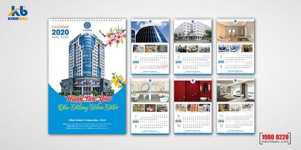 Địa chỉ in lịch độc quyền giá rẻ tại Hà Nội