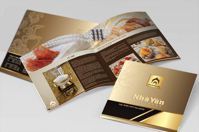 Thiết kế catalogue thực phẩm ấn tượng