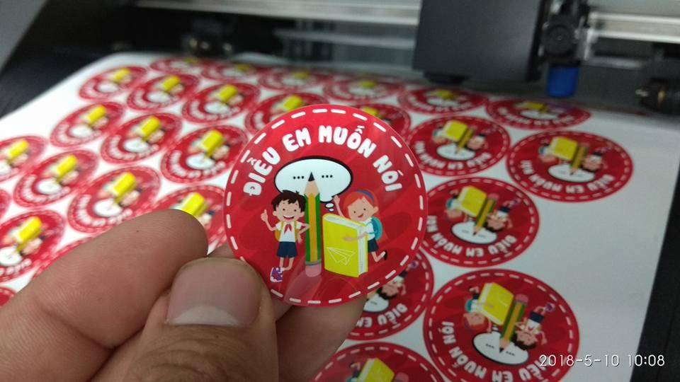 In tem nhãn, tem decal số lượng ít lấy ngay tại Hà Nội