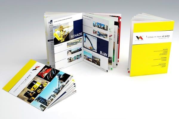 Chia sẻ kinh nghiệm về quy trình in catalogue lay ngay tại Hà Nội