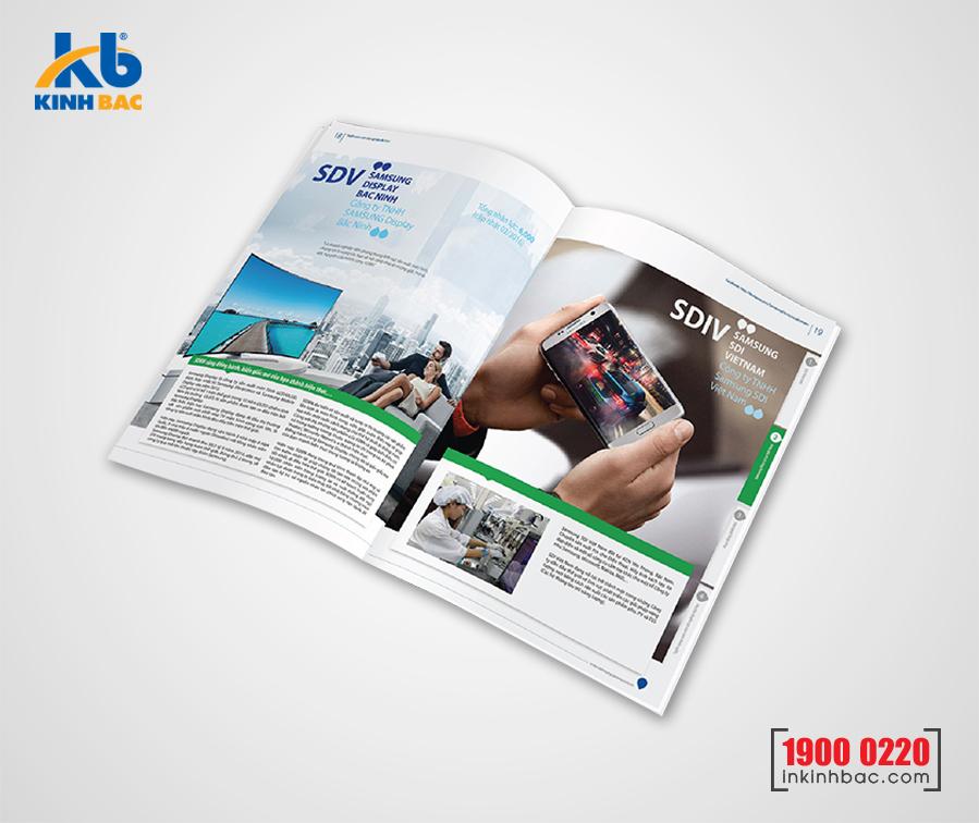 Nhận thiết kế và in catalogue theo yêu cầu tại Hà Nội