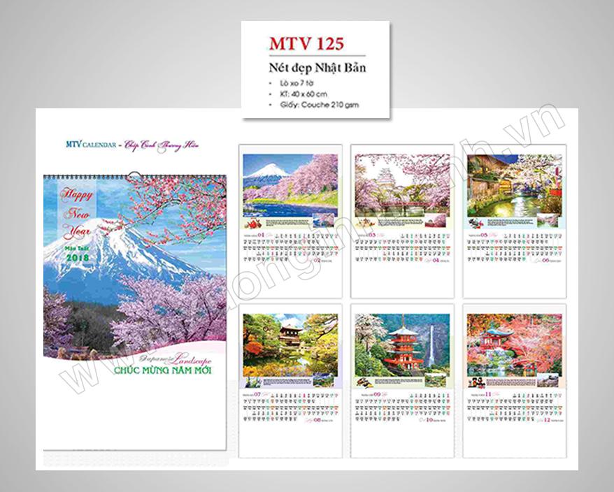 Dịch vụ in lịch treo tường, in lịch tết giá rẻ tại Hà Nội
