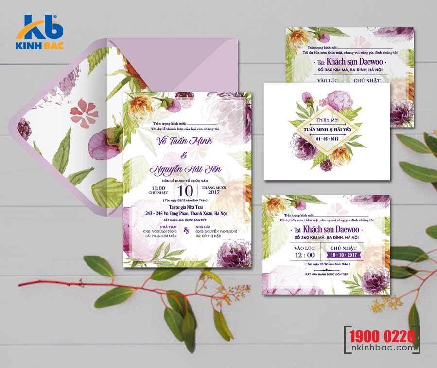 Thiệp cưới cao cấp - TCCC35