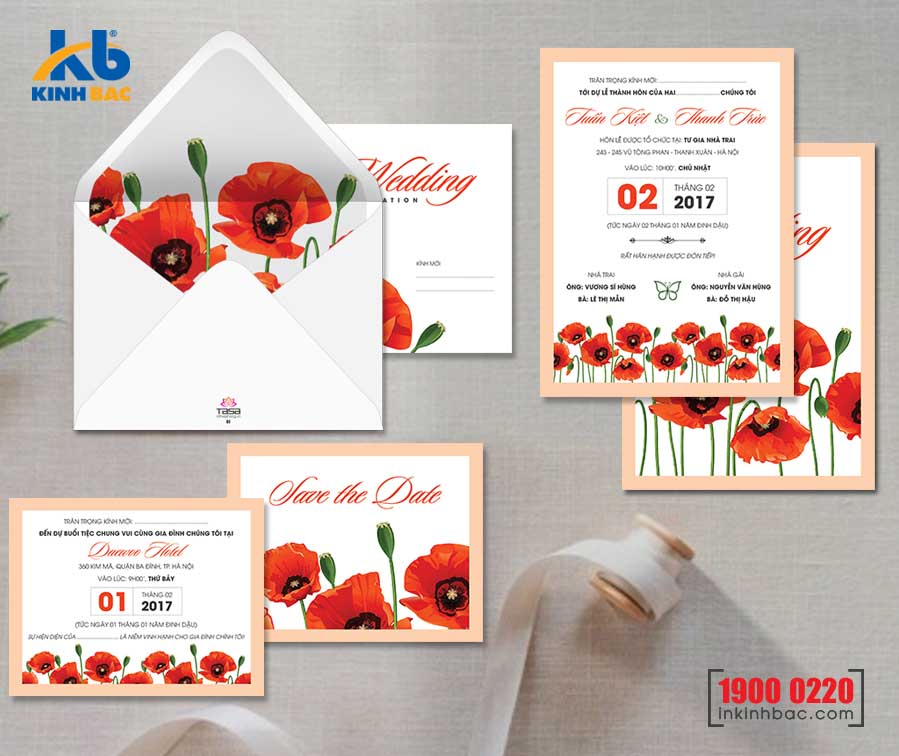 Thiệp cưới cao cấp - TCCC29