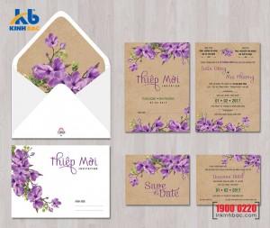 Thiệp cưới cao cấp - TCCC24