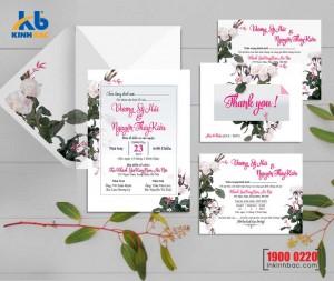 Thiệp cưới cao cấp - TCCC44