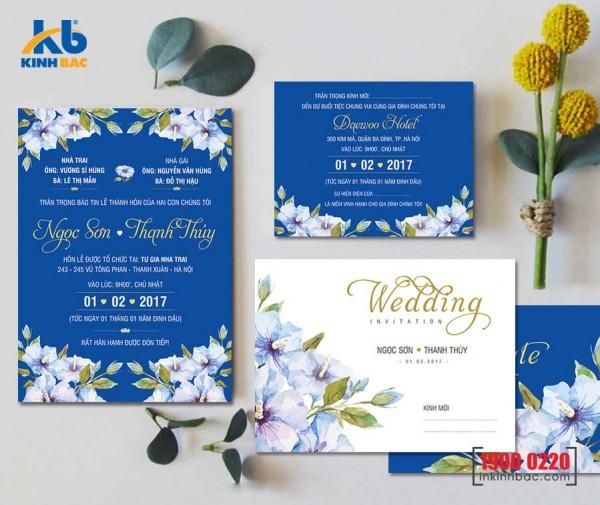 Thiệp cưới cao cấp - TCCC23