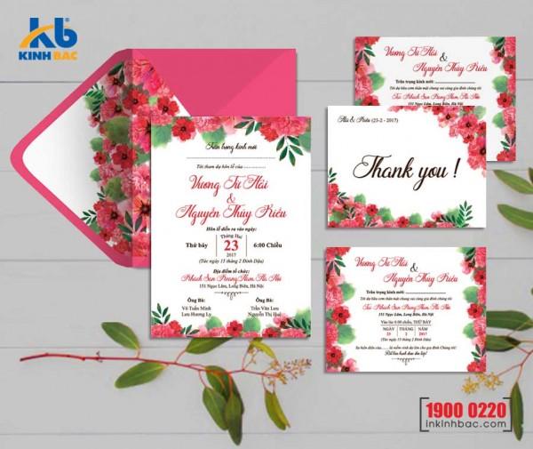 Thiệp cưới cao cấp - TCCC40