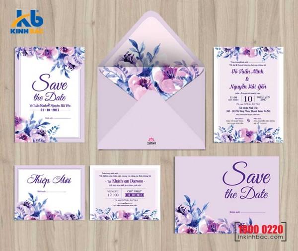Thiệp cưới cao cấp - TCCC31