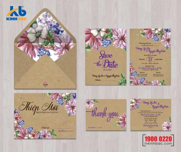 Thiệp cưới cao cấp - TCCC43