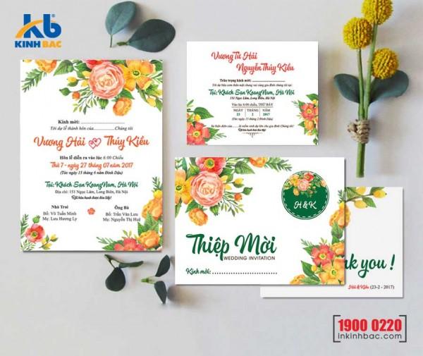 Thiệp cưới cao cấp - TCCC41