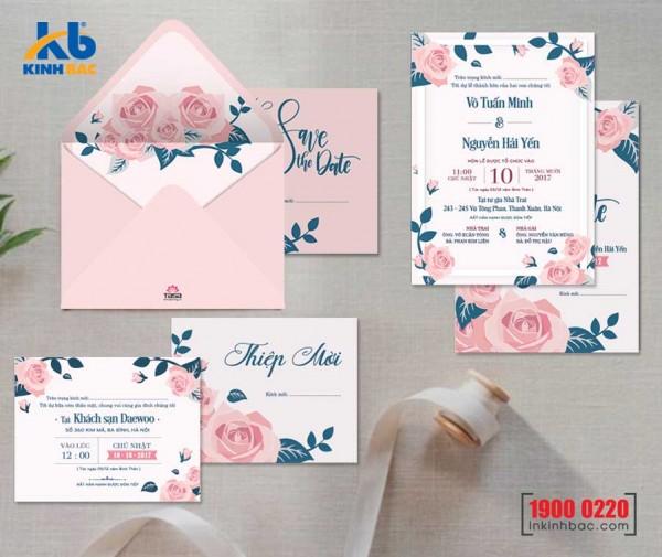 Thiệp cưới cao cấp - TCCC30