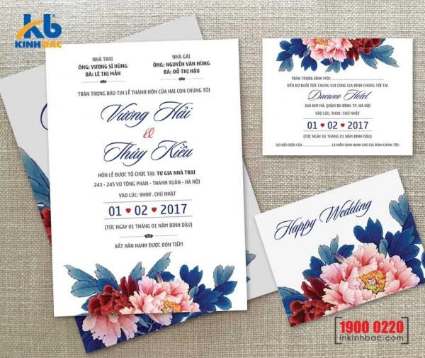 Thiệp cưới cao cấp - TCCC21