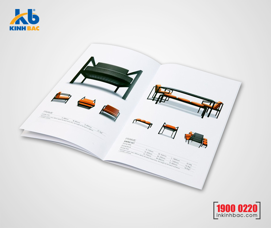 In catalogue A4 - 44 trang