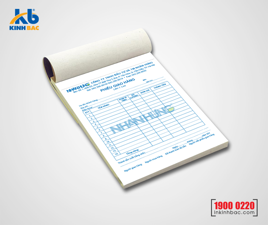 In hóa đơn - HDKB02