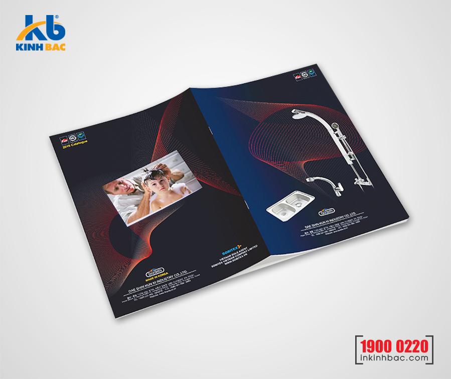 In catalogue A4 - 40 trang