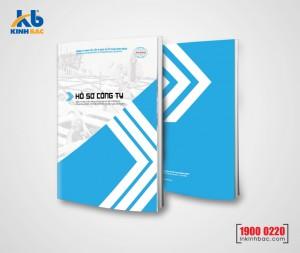 In hồ sơ năng lực A4 - 24 trang