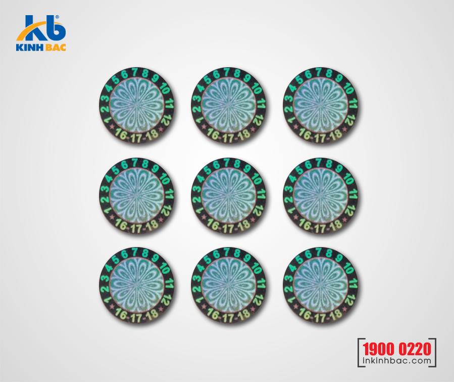 In tem 7 màu - BKB08