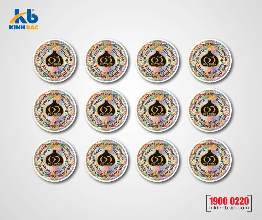 In tem chống hàng giả - TKB10