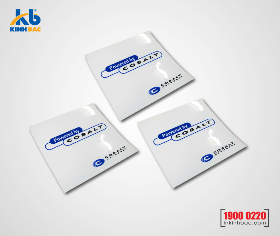 In tem Decal Nhựa trong - DNT3