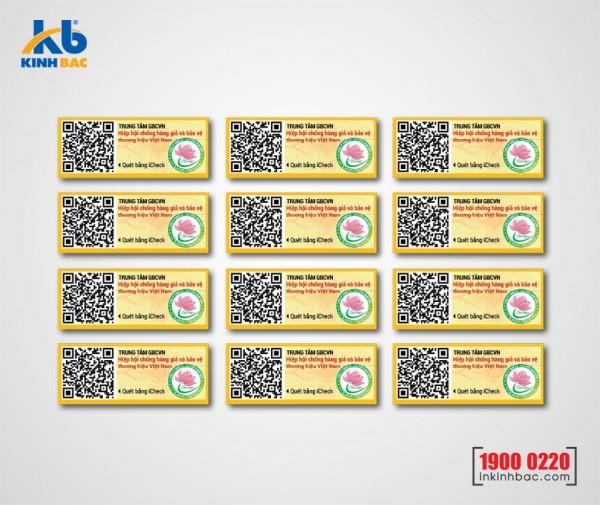 In tem barcode - BCKB01