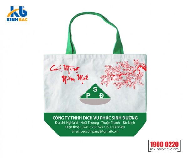 Túi vải không dệt chặt góc - TV04