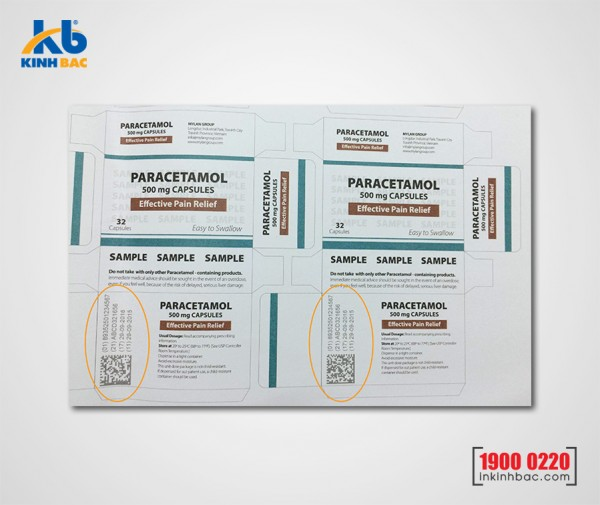 In tem dữ liệu biến đổi - TKB01