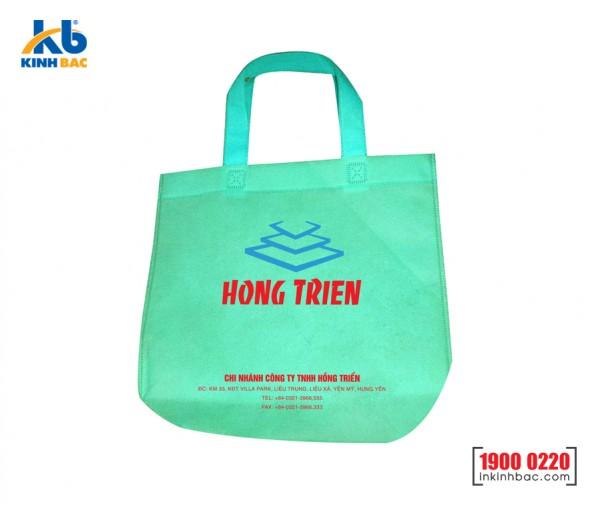 Túi vải không dệt chặt góc - TV07