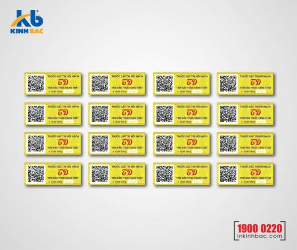In tem barcode - BCKB03