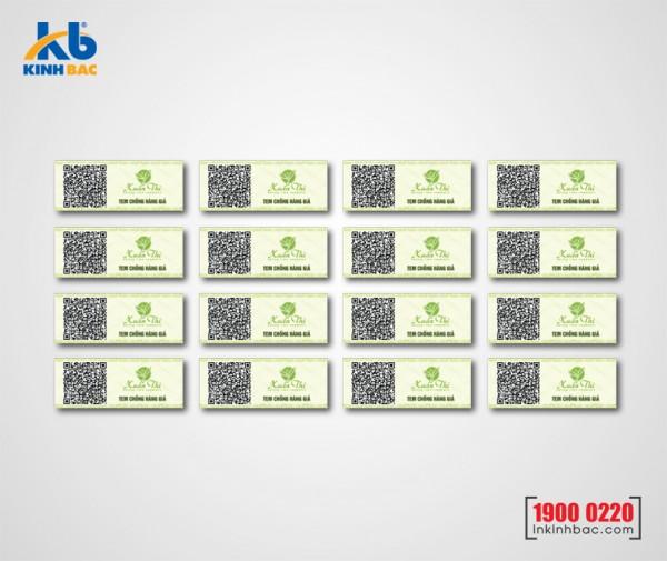 In tem barcode - BCKB02