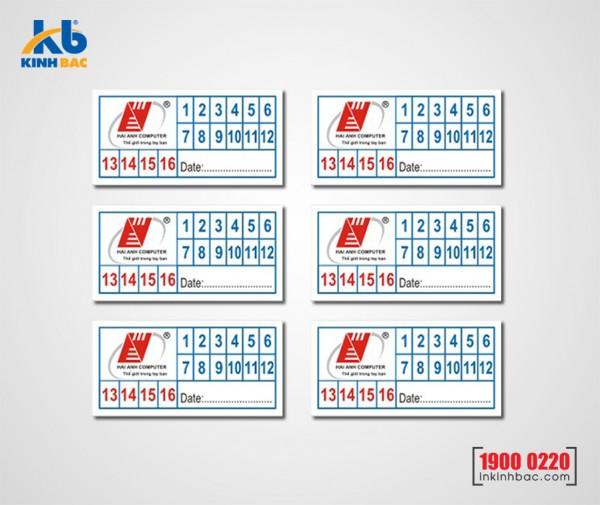 In tem bảo hành - BHKB12