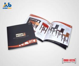 In catalogue hình vuông - 28 trang