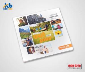 In catalogue hình vuông - 20 trang