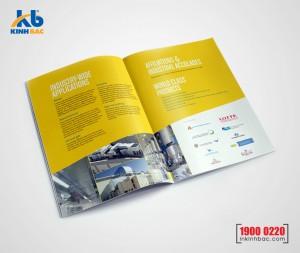 In catalogue A5 - 20 trang
