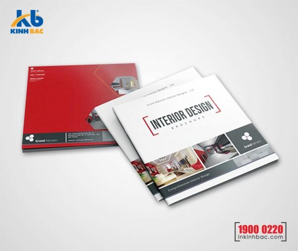 In catalogue hình vuông - 24 trang