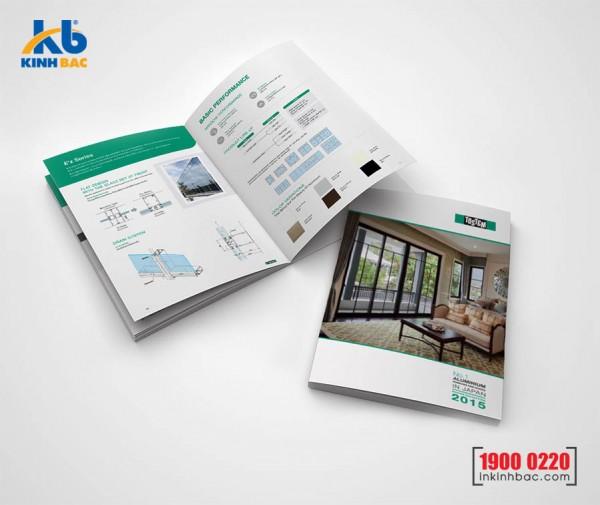 In catalogue A4 - 96 trang