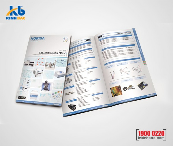 In catalogue A5 - 24 trang