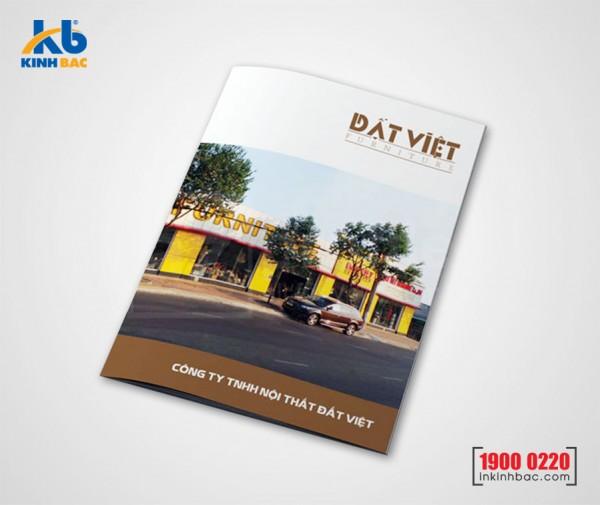 In catalogue A4 - 80 trang