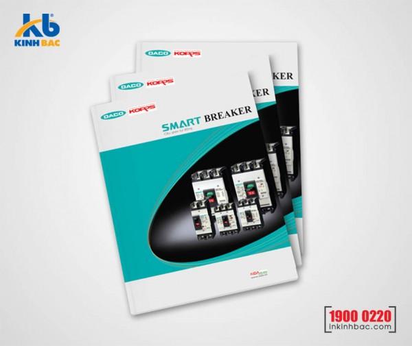 In catalogue A4 - 72 trang