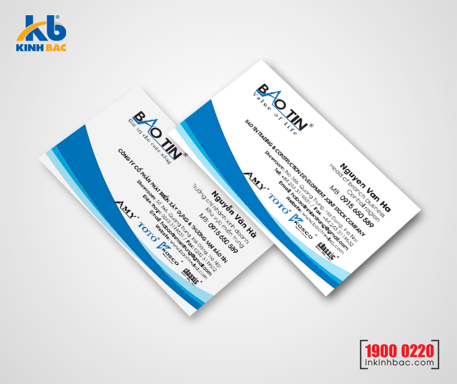In danh thiếp, Name card - DTNC19