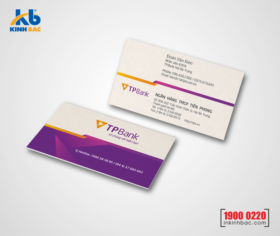 In danh thiếp, Name card - DTNC5