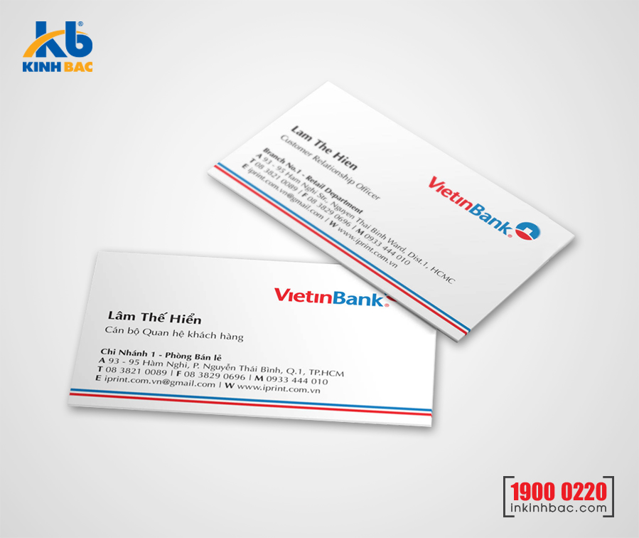 In danh thiếp, Name card - DTNC16