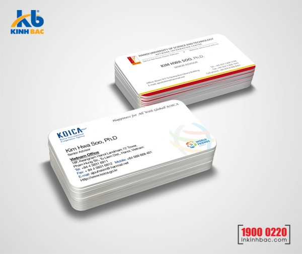 In danh thiếp, Name card - DTNC8
