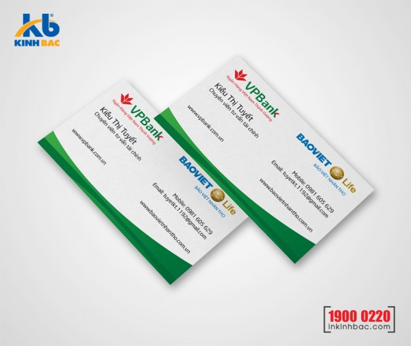 In danh thiếp, Name card - DTNC6