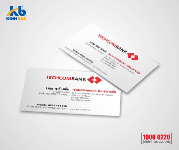 In danh thiếp, Name card - DTNC15