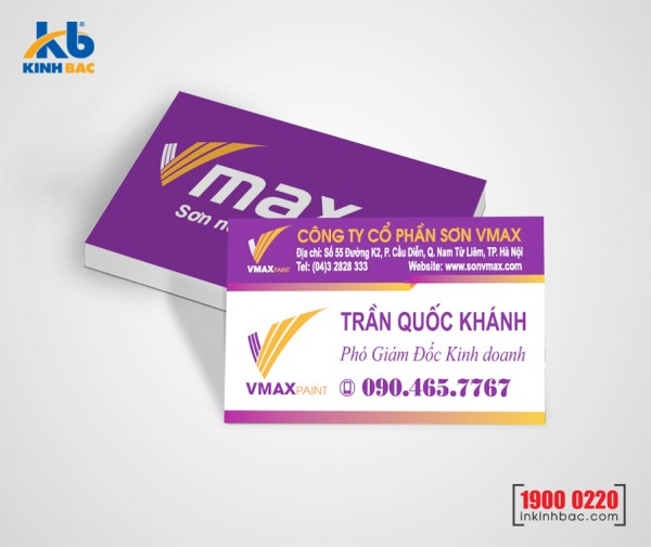 In danh thiếp, Name card - DTNC18