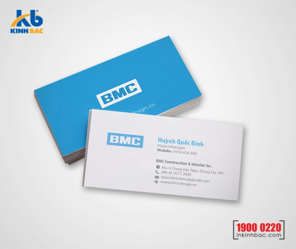 In danh thiếp, Name card - DTNC9