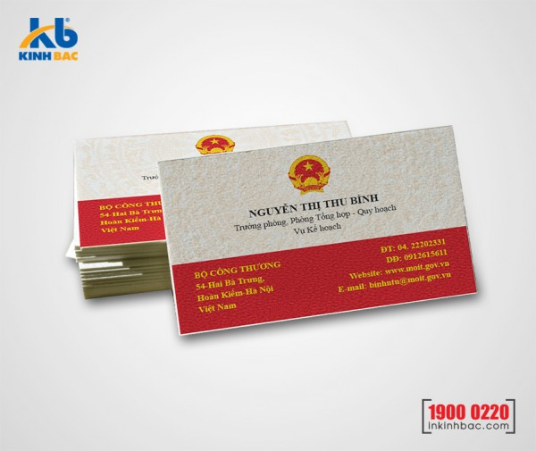 In danh thiếp, Name card - DTNC10