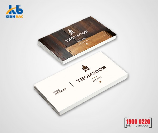 In danh thiếp, Name card - DTNC11