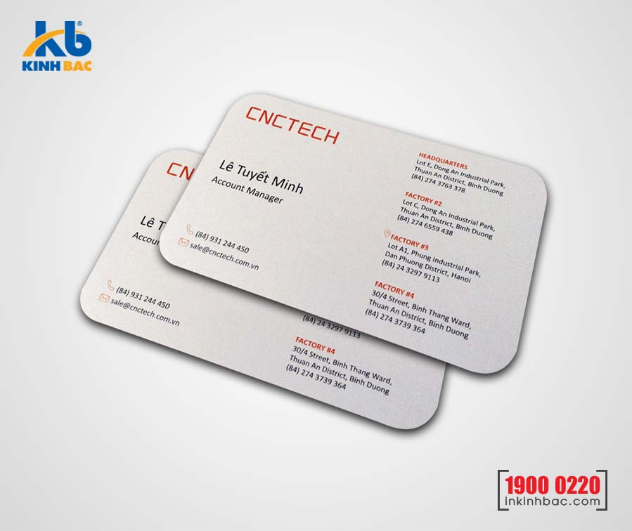In danh thiếp, Name card - DTNC21